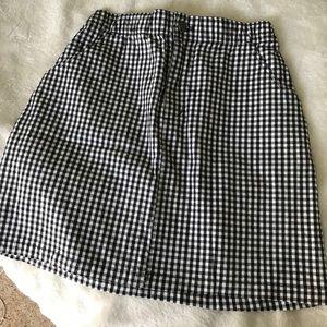 Hollister Gingham Skirt size small!!